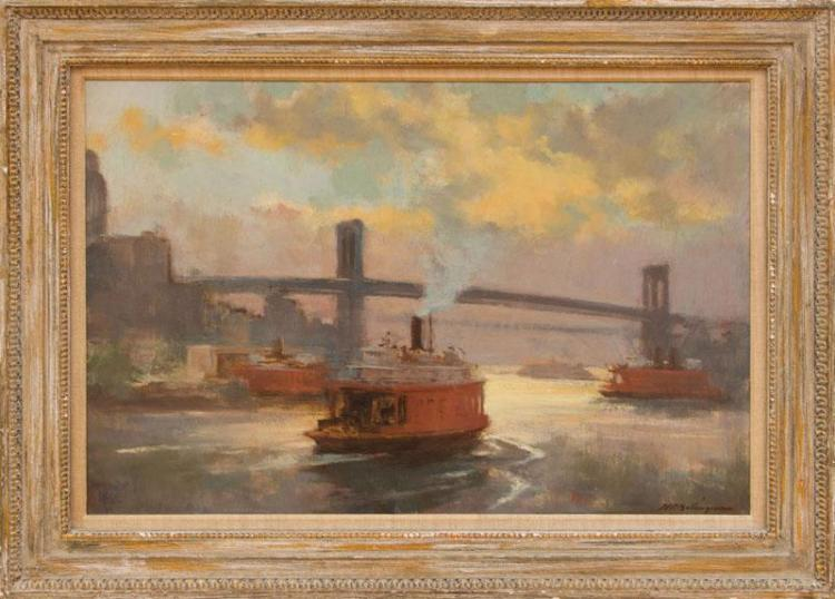 HENRY R. BALLINGER (1892-1993): THE EAST RIVER