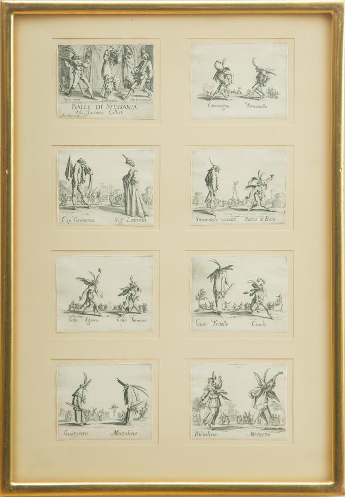 JACQUES CALLOT (1592-1635): BALLI DI SFESSANIA