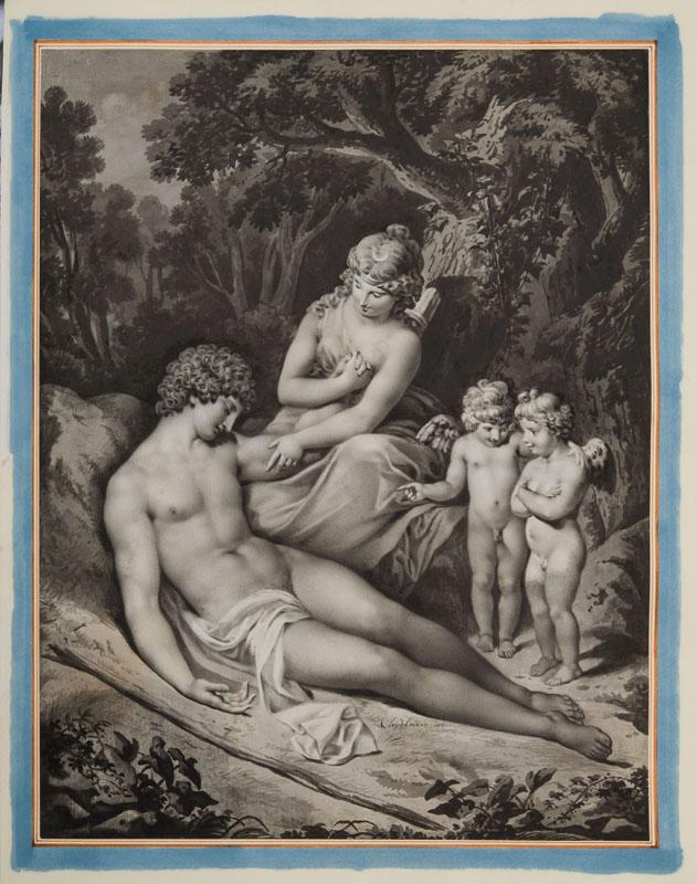 CRENENTIUS JACOB SEYDELMANN (1750-1829): ENDYMION VISITED BY SELENE