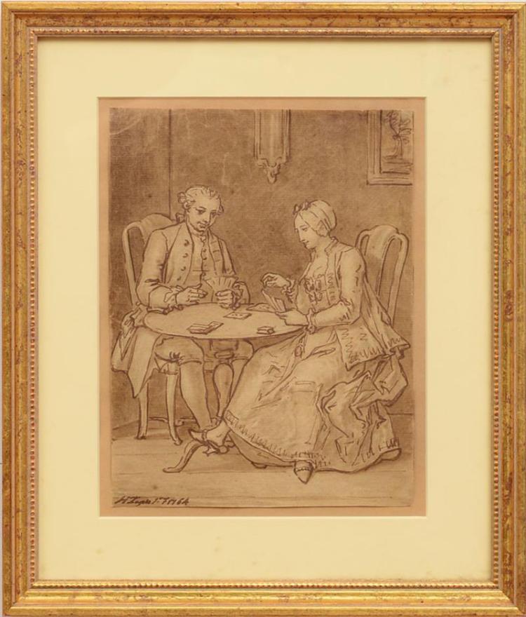 HIERONYMUS LAPIS, KNOWN AS GIROLAMO LAPIS (1723-1798): CARD PLAYERS