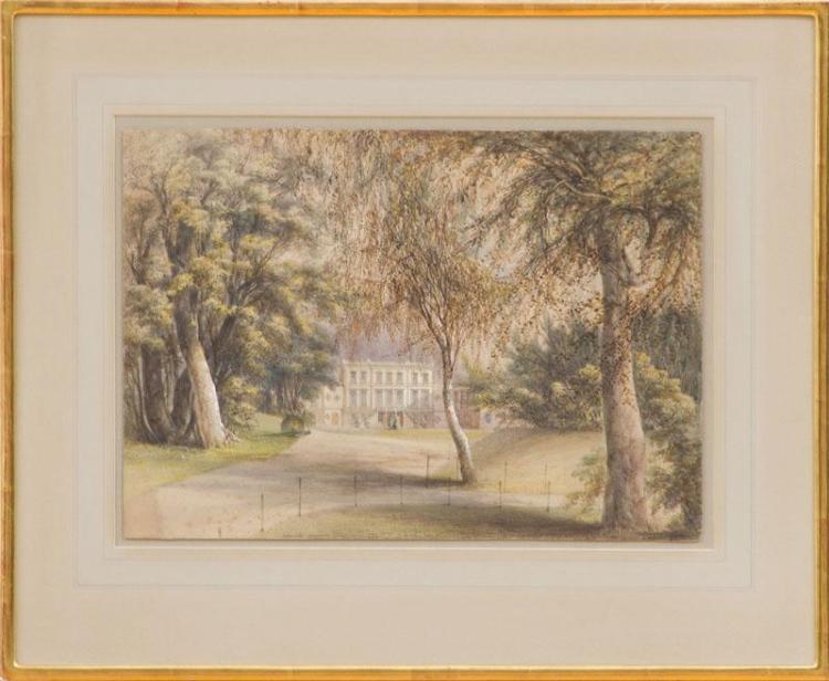 JAMES HOWARD BURGESS (1817-1890): CASTLE DOBBS, COUNTY ANTRIM, IRELAND