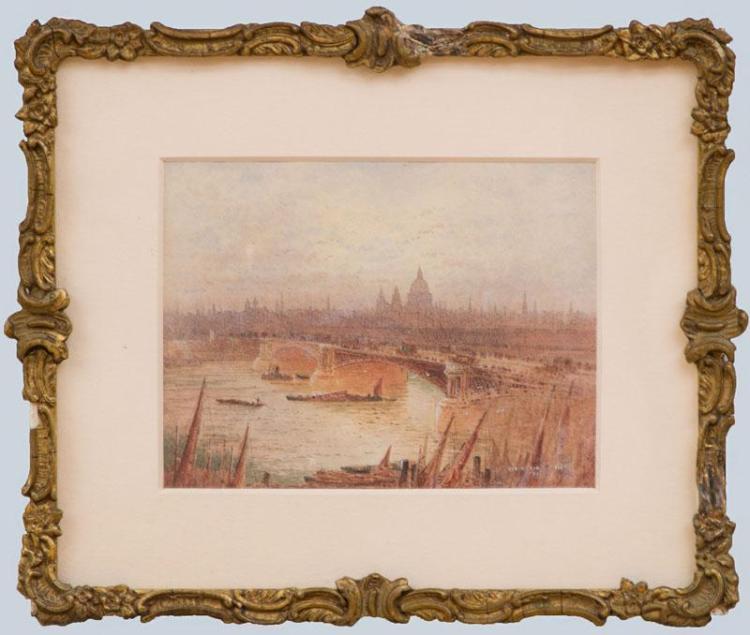FREDERICK EDWARD GOFF (1855-1931): BLACKFRIARS BRIDGE, LONDON