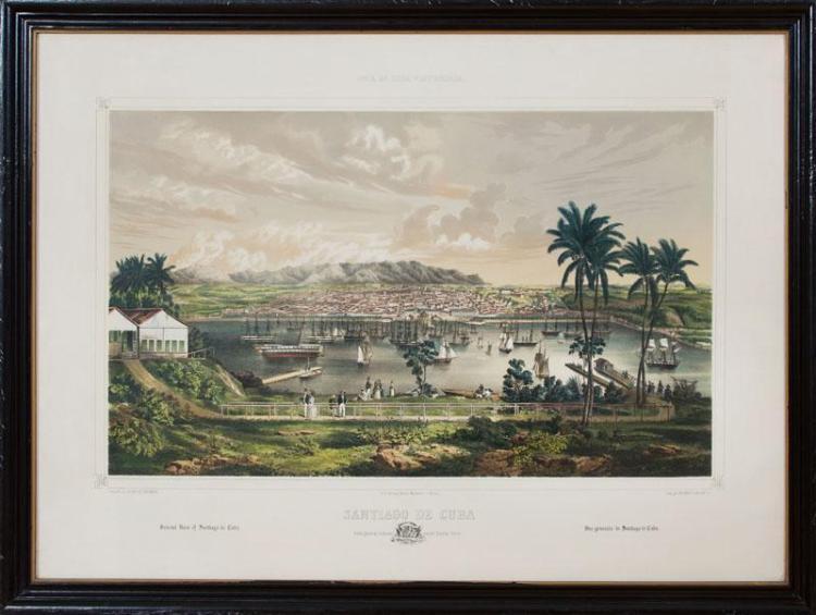 AFTER LEONARDO BARAÑANOL, BY EDUARDO LAPLANTE: LA HABANA; CARDENAS; AND SANTIAGO DE CUBA