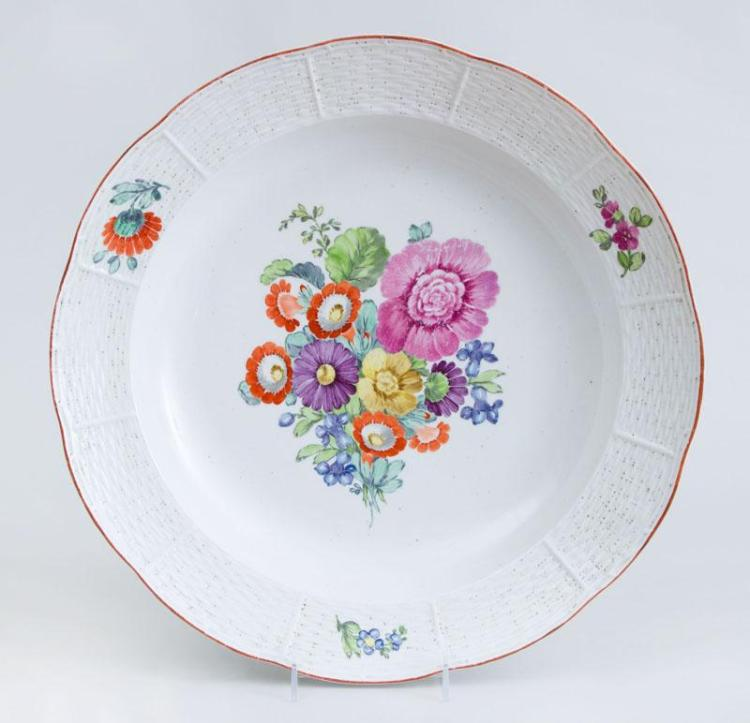 RUSSIAN PORCELAIN CHARGER
