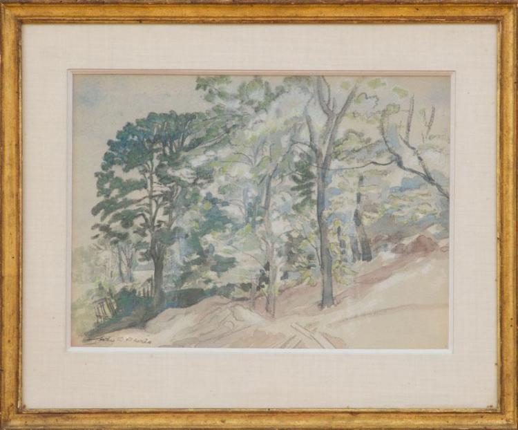 ARTHUR B. DAVIES (1862-1928): LANDSCAPE