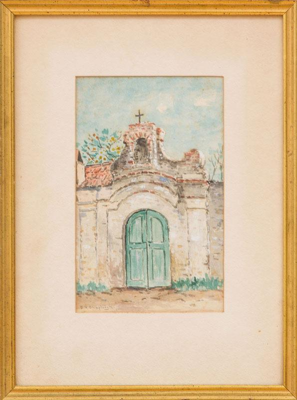 FRANK HENRY SHAPLEIGH (1842-1906): CHAPEL IN ST. AUGUSTINE