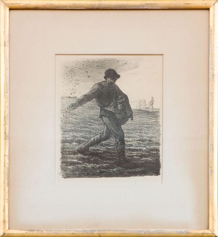JEAN FRANÇOIS MILLET (1814-1897): LE SEMEUR