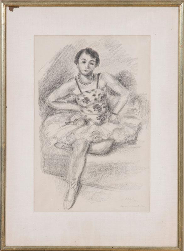 HENRI MATISSE (1869-1954): DANSEUSE ASSISE, FROM DIX DANSEUSES