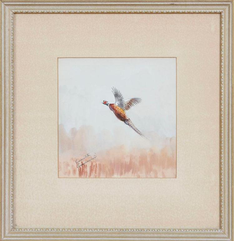 KENNETH SMALLWOOD: WOODCOCK; AND PHEASANT