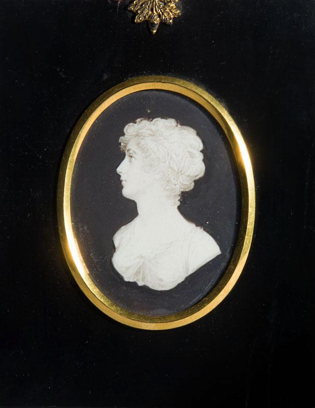 ATTRIBUTED TO ANDREW SAMUELS: FOUR PORTRAIT MINIATURES