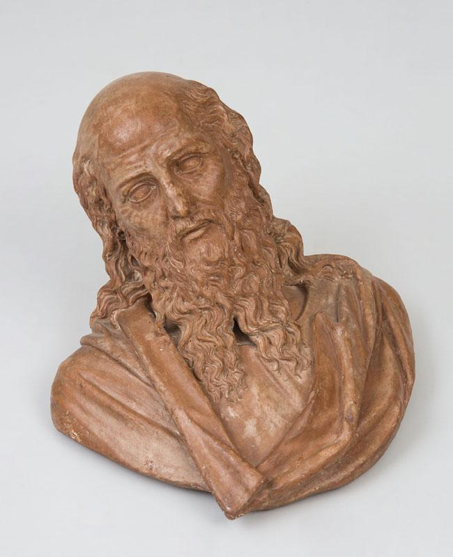 MANNER OF BACCI DA MONTELUPO (1469- c. 1535): BUST OF A SAINT OR AN APOSTLE