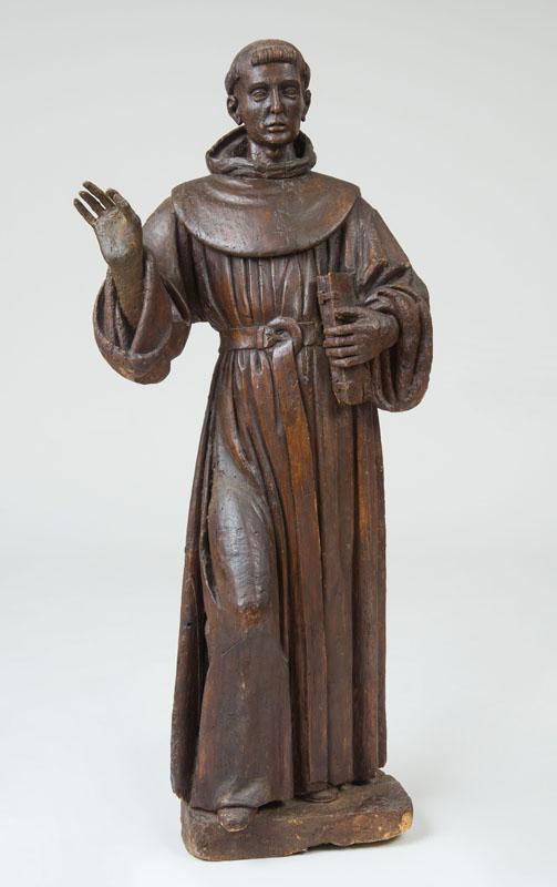 ITALIAN SCHOOL: FIGURE OF A FRANCISCAN MONK