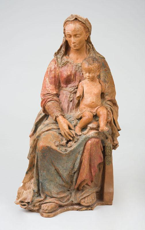 ATTRIBUTED TO ANDREA SANSOVINO (1467-1529): MADONNA AND CHILD