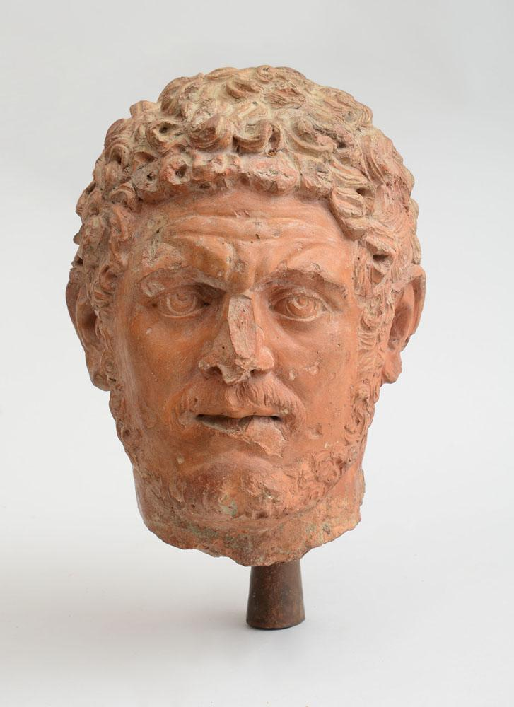 ATTRIBUTED TO GIOVANNI MINELLI: HEAD OF CARACALLA, ROMAN EMPEROR (198-217 AD), AFTER THE ANTIQUE
