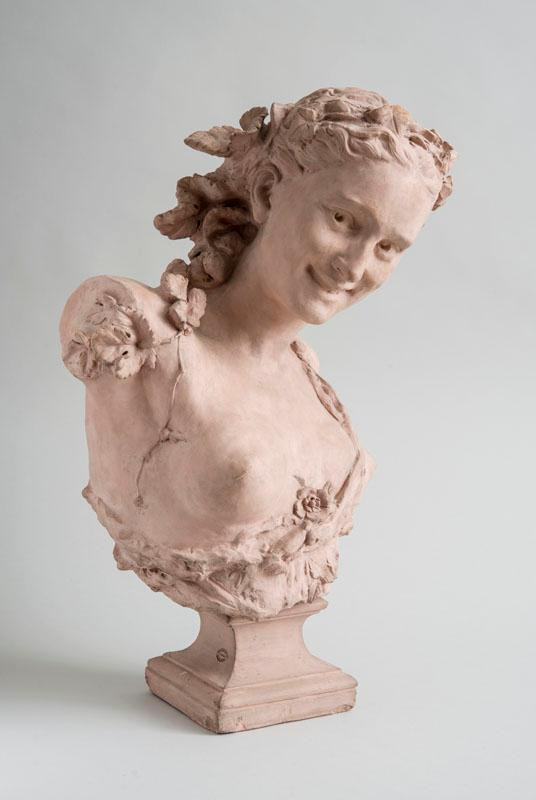 AFTER JEAN-BAPTISTE CARPEAUX (1827-1875): LA RIEUSE AUX LIERRES