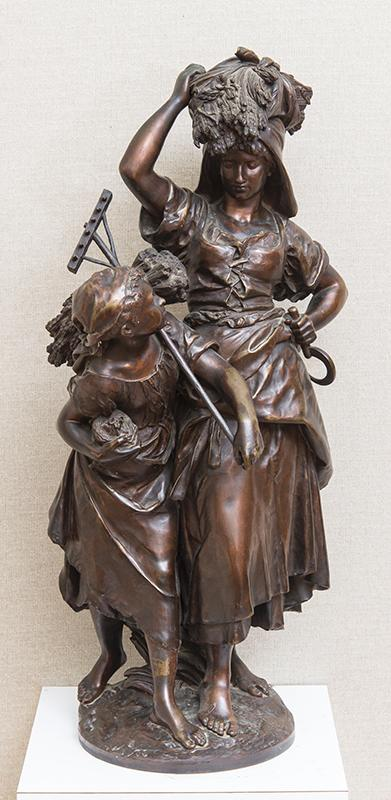 MATHURIN MOREAU (1822-1912): LE RETOUR DE LA MOISSON