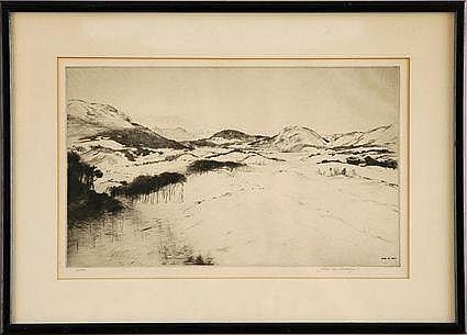JOHN M. AIKEN (1880-1961) Signed lower right,