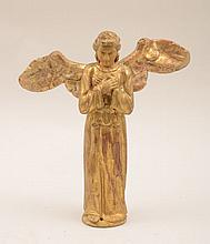 Baroque Style Carved and Giltwood Figure of an Angel