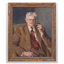 Louis Betts (1873-1961): Portrait of Percy MacKaye