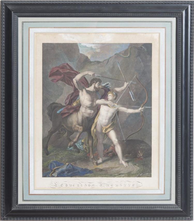 CHARLES CLÉMENT BERVIC (1756-1822): D'ACHILLE