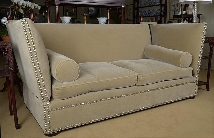 Admirable Modern Upholstered Knole Sofa Retailed By George Smith Inzonedesignstudio Interior Chair Design Inzonedesignstudiocom