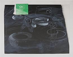Vernon Fisher (b. 1943): Rules for Bending Circles, 1993
