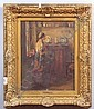 HUGH NEWELL (1830-1915), INTERIOR SCENE Oil on canvas, 1, Hugh Newell, Click for value