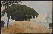 ATTRIBUTED TO NICHOLAS KALMAKOV (1873-1955): THE SQUARE, 1912