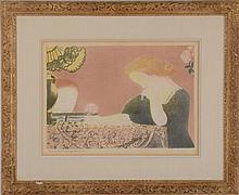 MAURICE DENIS (1870-1943): NOS ÂMES, EN DES GESTES LENTS, FROM SUITE AMOUR (CAILLER 116), 1892-1911
