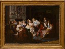 JOSEPH NICOLAS ROBERT-FLEURY (1797-1890): UNE LECTURE CHEZ MADAME DE SEVIGNÉ