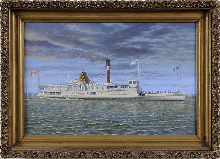 ALBERT NEMETHY (1920-1998): THE PADDLEWHEELER WILSON G. HUNT