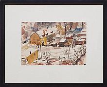 CECIL BELL (1906-1970): TOWNSCAPE