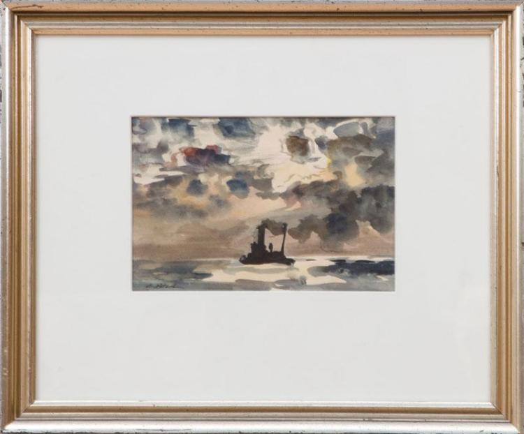 CECIL BELL (1906-1970): STORM CLOUDS