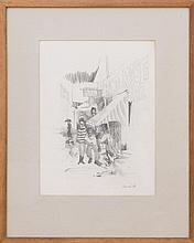 JON CARSMAN (1944-1987): THE RED ROSE BAR, NYC