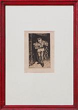 WILLIAM MERRITT CHASE (1849-1916): THE COURT JESTER