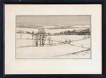 KERR EBY (1889-1946): SNOWFIELDS, CT