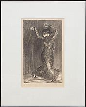 HELEN FARR (1911-2005): FELINE #2 - ANGNA ENTERS