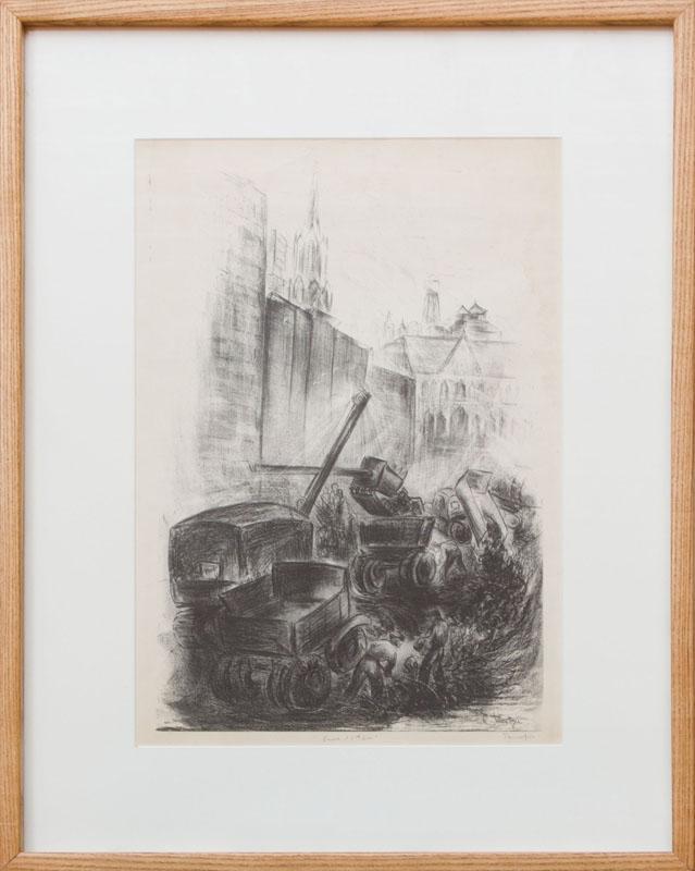 CHUZO TAMOTZU (1891-1975): EAST 11TH STREET