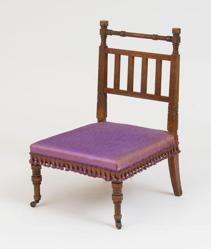 HERTER BROTHERS PARLOR CHAIR