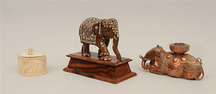 Group of Elephant Table Articles