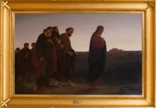 JOHANNES ADAM SIMON OERTEL (1823-1909): CHRIST ON THE ROAD TO EMMAUS