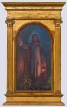 AFTER WILLIAM HOLMAN HUNT (1827-1910): CHRIST WITH A LANTERN
