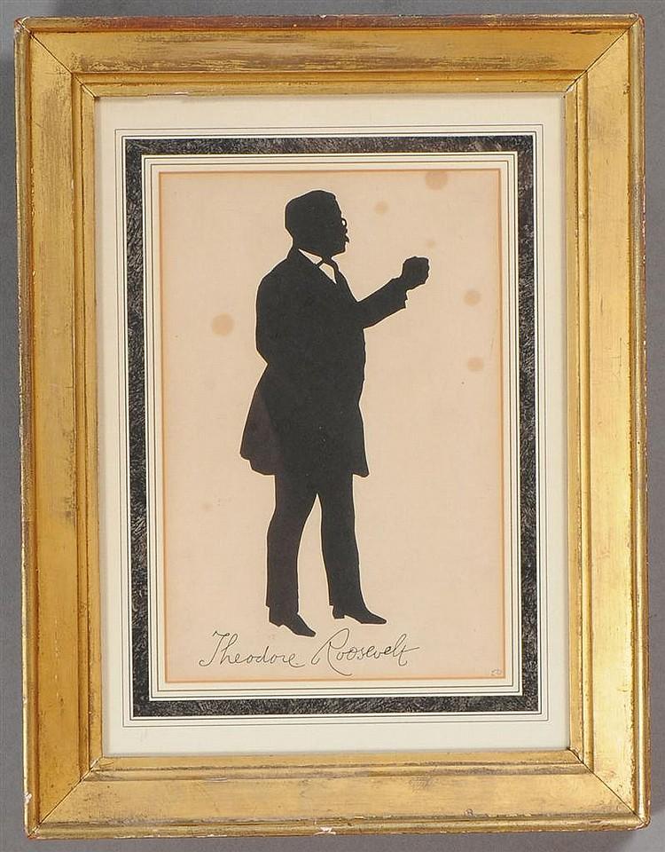 American School: Silhouette of Theodore Roosevelt