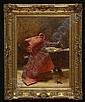 JOHN PETTIE (1839-1893), CARDINAL BURNING PAPERS, John Pettie, Click for value