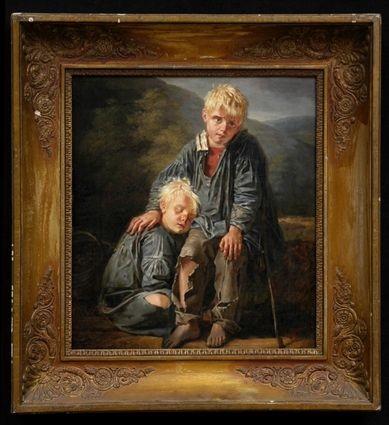 BARTHELEMY JOSEF VIELLEVOYE (1798-1855), THE LOST BOYS