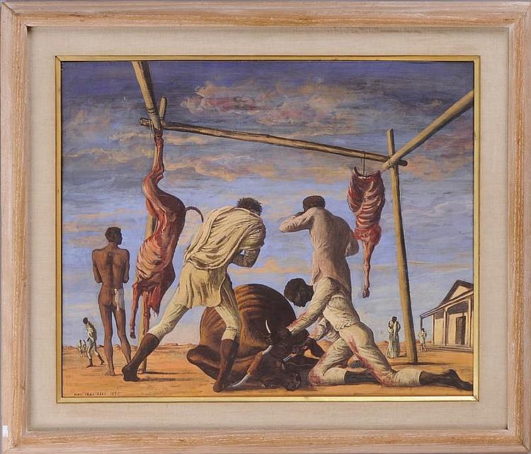 ALDO PAGLIACCI (ITALIAN, 1913-1991): THE BULLS