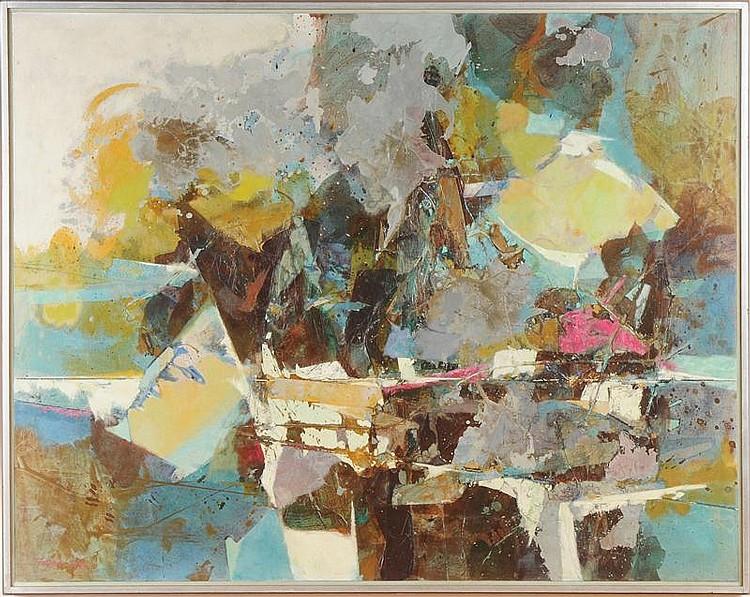 JOHN TEYRAL (AMERICAN, 1912-1999):