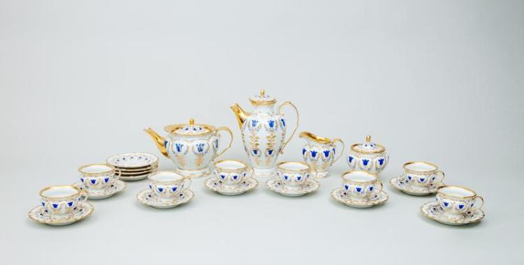 Berlin Porcelain Part Tea and Coffee Service