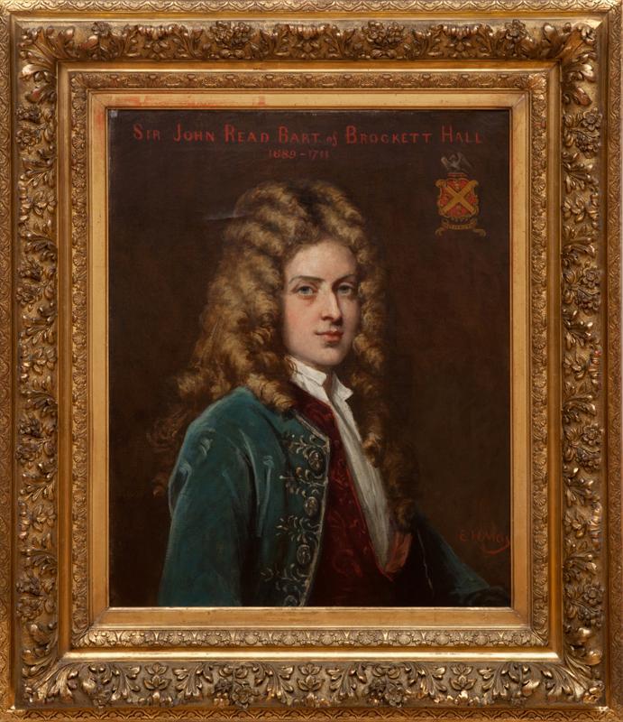 Edward Harrison May (1824-1887): Sir John Read Bart of Brockett Hall, 1689-1711
