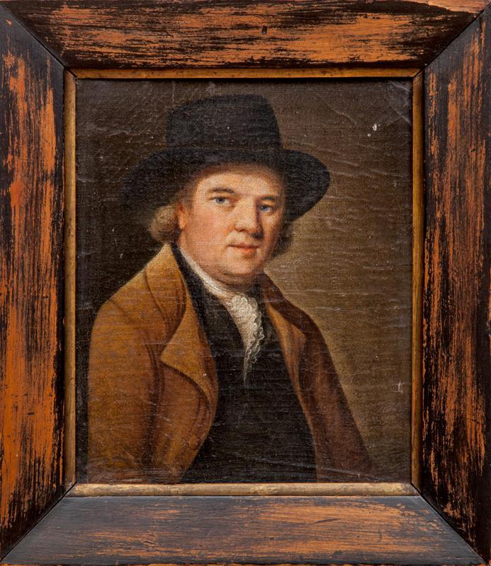 English School: Portrait of a Man in a Black Hat